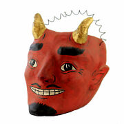 Cody Foster Vintage Style Devil Large Paper Mache Candy Bucket Halloween Pm929b