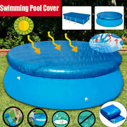 Above Ground Swimming Pool Cover For Winter Round Safety Pe Blue 6/8/10/12ft Hot