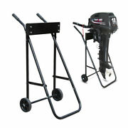 Heavy Duty Outboard Boat Motor Stand Carrier Cart Dolly Trolley Transport 70kg