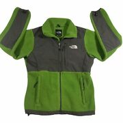 The Jacket Womenandrsquos Small Fleece Style Green. Drawstring See Disc