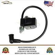 Chainsaw Ignition Coil Module For Poulan Craftsman 530039198 Woodshark Top
