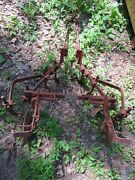 David Bradley Straddle Cultivator With Extensions Walk Behind Tractor Attachment
