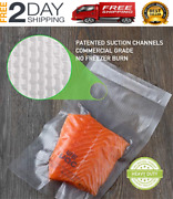 Vacuum Sealer Bags 100 Gallon 6x10 Inch For Food Saver, Seal A Meal, Weston.