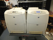 2x Hp Color Lasterjet 4600dn Printers For Parts Or Repair  Dayton Ohio Pick Up
