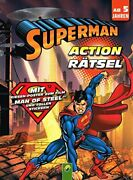 Superman Action Puzzle Activity Book With And039man Of Steeland039 Stickers Book The Fast