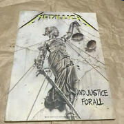 Band Score Metallica Metal Justice With Guitar Bass Staff Japan Band Score