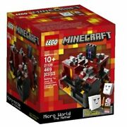 Lego 21106 Minecraft The Nether Where Ghasts Fly And The Zombie Pigman Patrols