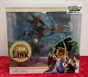 The Legend Of Zelda Breath Wild Link 10 Inches Pvc Statue First Figures