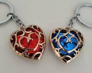 Can Be Purchased Separately The Legend Of Zelda Keychain Heart Vessel Red Blue