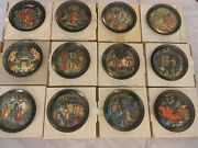 Russian Legends Collection Plates Bradford Exchange Limited Edition Complete Set