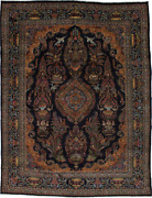 One Of A Kind Vintage Pictorial 10x13 Handmade Oriental Rug Home Decor Carpet