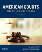 American Courts And The Judicial Process By G. Larry Mays English Paperback Bo