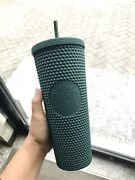 Preorder Starbucks Indonesia Matte Green Studded Cold Cup [u.s Seller]