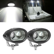 2x Hight Bright Led Work Lights Pods Spot Offroad Lamp For Atv Jeep Ute 4wd
