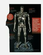 Hachette Build The Terminator T-800 Full Kit Issues 1-120 With Plasma Rifle