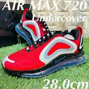 Men 10us Undercover Nike Air Max 720 Airmax Collaboration Sneakers Red