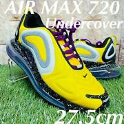 Undercover Nike Air Max 720 Collaboration Sneakers Yellow Men 9.5us