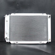 Aluminum Radiator Fit Ford Mustang Gt Mercury Marquis 79-93 L4 V8 2row At 138e