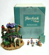 Dept 56 Mary, Mary Quite Contrary Storybook Village Set Of 5 With Box 1997