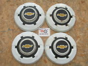 1968-72 Chevy 3/4 Ton Pickup Truck Van Painted Dog Dish Hubcaps Set Of 4.