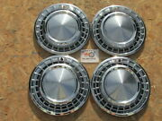 1958 Plymouth Fury Savoy Belvedere Christine 14 Wheel Covers Hubcaps Set4