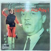 Lester Young Leaps Again Orchid Original Stereo J30044