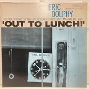 Eric Dolphy Out To Lunch Blue Beta One-sided Rvg Stereo Note