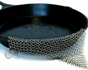 The Ringer Original Cast Iron Cleaner Stainless Steel Patented Xl 8 X6 Design