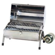 Brand New Stainless Steel Propane Gas Barbeque Grill Portable And Outdoor Silver
