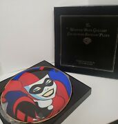 Warner Bros Gallery Harley Quinn Collection Plate 1625 Of 2500