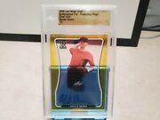 2020 Leaf Metal Draft Autographed Pre Proof Clear Gold Hunter Brown 1/1 T1798