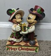 Disney Traditions Jim Shore Enesco Victorian Mickey And Minnie Mouse 4041807