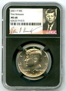 2021 P Kennedy Ngc Ms68 Half Dollar Retro Signature Label First Releases