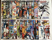 Hawk And Dove 1-28 Complete Set/run1989 Dcbagged And Boardedbeautiful Nm Ob