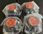 Rs Watanabe Wheel Center Cap Cannonball Type 4 Pieces Set