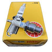 Ngk Spark Plug Br6hs-10 Pack Of 10 Plugs Brand New Boat Marine Part