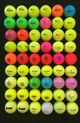 54 Nike. Oncore, And Spectra Z And Others 5a Mixed Model Recycled Golf Balls