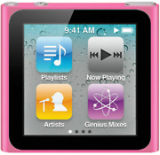 Apple Ipod Nano 6th Generation 8gb Pink - With New Battery , Great Condition