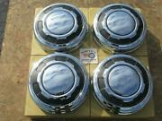 1970's-80's Ford 3/4 Ton Pickup Truck Hubcaps, Set Of 4 Brand New In Box 11 3/4
