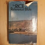 Holy Bible Rice Reference Bible, King James Version By John R. Rice Thomas Nels
