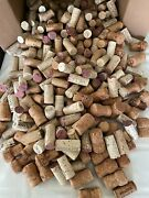 Used Wine Corks- 385 Mix Of Natural, Synthetic And Champagne Good For Crafts