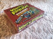 Wacky Packages Ans1 All New Series 1 2004 Topps Stickers Trading Cards Box
