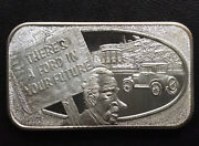 1974 Ussc Ford In Your Future Ussc-118 Silver Art Bar A1467