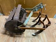 Antique Vintage Roho Garden Hand Push Cultivator Tiller Weed Plow Vegetable Claw