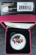 2015 20 Fine Silver Coin- The Majestic Moose. Limited Mintage Of Only 7500.