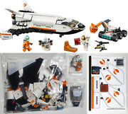 Lego 60226 Mars Research Shuttle Complete New Parts Sticker Sheet City Space