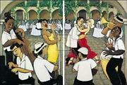 Marsha Hammel Song And Dance Diptych Signed Limited Edition Of 195