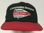 Vintage Pioneer Seed Corn Hat Cap A Performance Revolution Snapback K Products