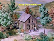 Campbell Scale Models 374 Ho Grist Mill