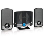 Vertical Home Music System With Am/fm Cd Gpx Radio Stereo Player Wall Mountable